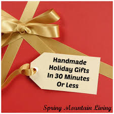 last minute handmade gifts you can make in 30 minutes