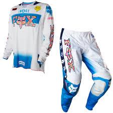 retro motocross gear fox 2015 360 le atlanta retro mx motocross jersey y pantalón
