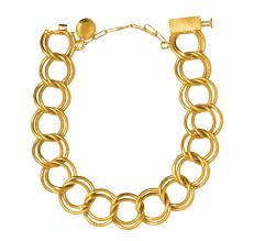 bracelet gold style images Loop bracelet in yellow gold jpg