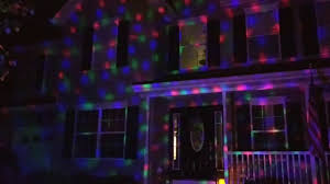 Winter Lane Light Flurries by Multi Color Swirling Led Projector Youtube