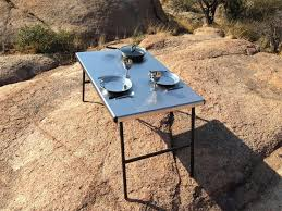 eezi awn k9 stainless steel camp table large