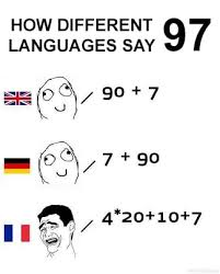 Different Languages Meme - 16 times the french language was just too much