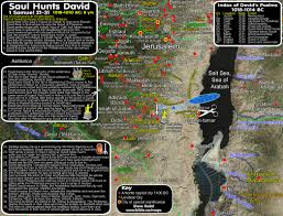 saul hunts david timeline maps chronology sermons of judges 1