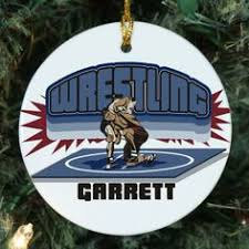 personalized ceramic hockey player ornament personalized