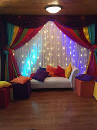 mehndi decoration colourful indoor mehndi decor pinteres