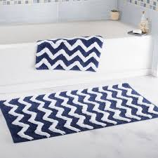 bath mats set lavish home 2 chevron cotton bath mat set reviews wayfair