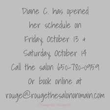 rouge the salon on main home facebook
