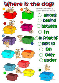 236 free esl prepositions of place worksheets