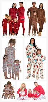 25 unique matching pajamas ideas on