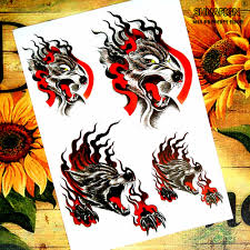 compare prices on wolf sticker tattoo online shopping buy low
