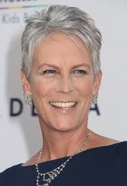 how to get the jamie lee curtis haircut jamie lee curtis classy celebrity hairstyles for women with gray