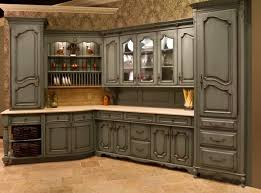Old World Style Kitchen Cabinets by Gorgeous Old World Style Kitchen Cabinets With Copper Apron Front