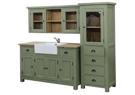 meuble cuisine en pin acheter votre meuble de cuisine en pin massif avec évier blanc