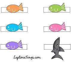 5 little fish finger puppet free printable laptime songs