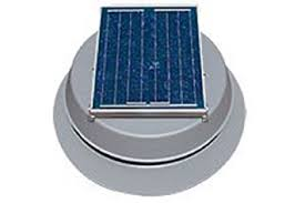 solar attic fan with 25 year warranty by natural light built in