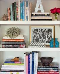 Colored Bookshelves by 6 Chic Styling Tips For A Bookcase
