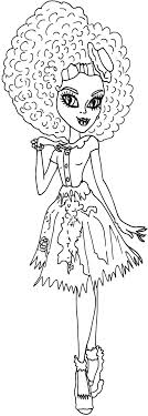 monster high coloring pages frights camera action free printable monster high coloring pages honey sw free