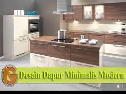 desain dapur lebar 2 meter top 20 desain dapur minimalis modern youtube