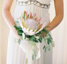 Flowers To Go Flowers To Go With King Protea Weddingbee