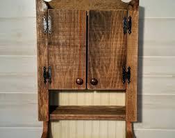 Rustic Bathroom Medicine Cabinets by On Sale Vintage Medicine Cabinet Old Medicine Cabinet