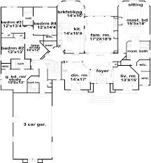 5 bedroom 1 house plans european style house plans 3374 square home 1 5