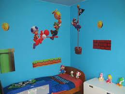 chambre mario bros décoration chambre mario bros
