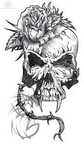 free skull designs for cool tattoos bonbaden