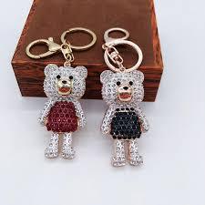 Baby Keychains Chic Baby Bear Keychains Cute Keyring Bag Car Key Holder