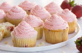 cupcakes recipe fresh strawberry cupcakes recipe homemade from scratch