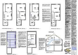 terraced house loft conversion floor plan loft plans architectural floor building plans for loft conversions
