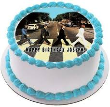 beatles cake toppers beatles road edible cake cupcake topper edible prints on
