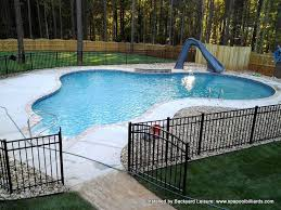 Backyard Leisure Pools by Best 25 Small Inground Pool Ideas On Pinterest Small Pool