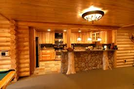 Log Home Interior Designs Log Home Theater Rustic Detroit By Foran Interior Design