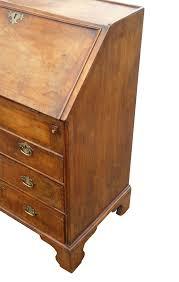 Small Bureau Desk by Figured Walnut Bureau Of Small Proportions Fgb Antiques