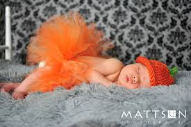 Infant Halloween Costumes Pumpkin Pumpkin Tutu Newborn Halloween Costume Littlehbigstyle