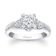 cheap princess cut engagement rings barkev s princess cut engagement ring 7832l barkev s