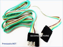 5 ft 4 way flat trailer light wire extension cord pressauto net