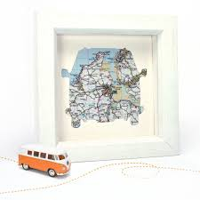 personalised map gifts map marketing