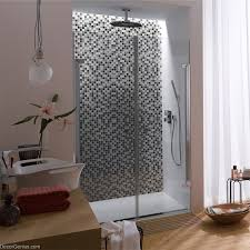 Mirror Bathroom Tiles Wall Tile Stickers Bathroom Tile Black Grey White Glass Ceiling