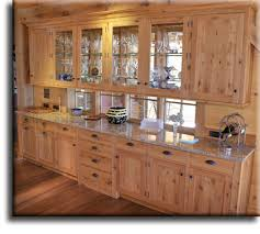 Wormy Maple Wood Cabinets While These Pictures Show Mostly Built - White oak kitchen cabinets