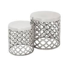 outdoor drum stool wayfair