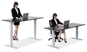 Standing Sitting Desk Standup Desks Larner S Office Furniture Nc