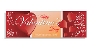 happy valentines day banner happy valentines day banner 3 custom text banner co uk
