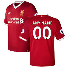 premier league liverpool home soccer jersey 2017 2018 season
