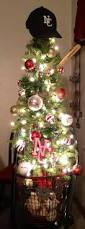 baseball christmas tree i love it but would have to be red sox