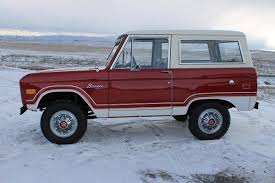 baja bronco for sale most beloved american icons the ford bronco which made its debut