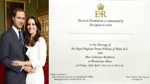 royal wedding invitation see the royal wedding invitation that isn t waiting in your mailbox