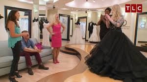 black wedding stunning black wedding gown