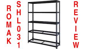 Heavy Duty Shelves by Romak Heavy Duty Shelves Shl031 Youtube