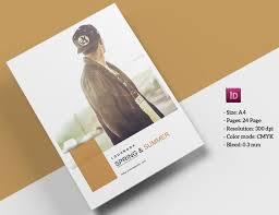indesign fashion lookbook template fashion magazine template